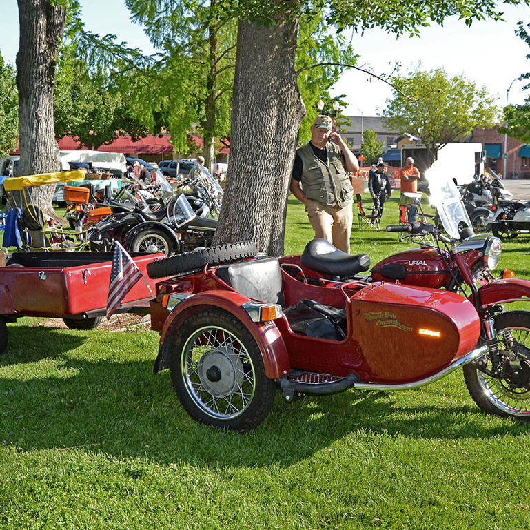 Vintage Sidecar Rendezvous, Recycled Treasures & Antique Motorcycles