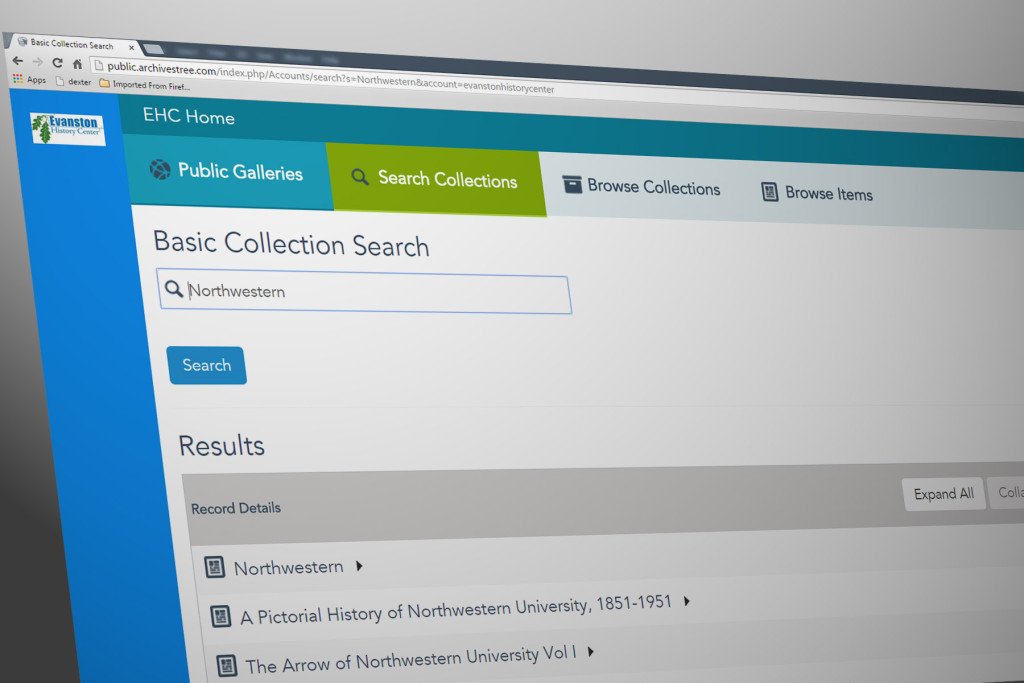 Online Collection Database – Evanston History Center