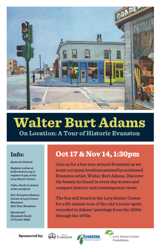 Walter Burt Adams Bus Tour