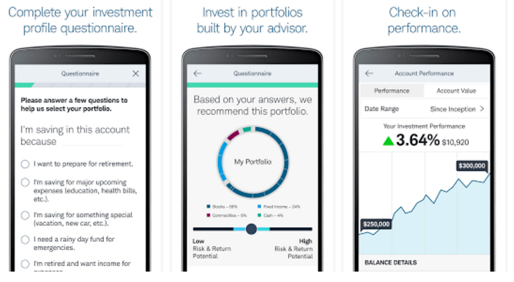 Robo Advisor App Screenshot