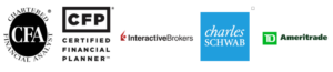 Parker Evans, Chartered Financial Analyst (CFA), Certified Financial Planner (CFP), Authorized Independent Advisor on Interactive Brokers, Charles Schwab, TD Ameritrade