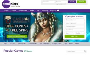 omnislots freespins casino