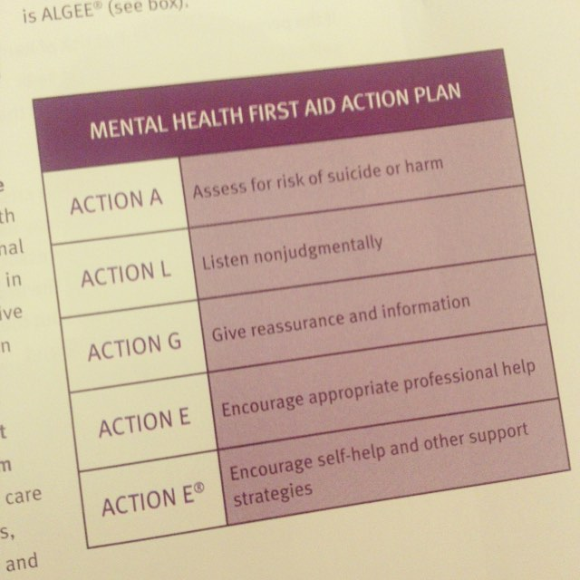 mental health action plan