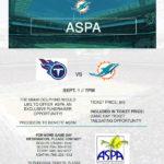 Miami Dolphins ASPA Game Day