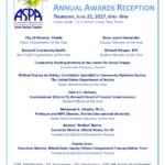 ASPA 2017 Annual Awards Flyer