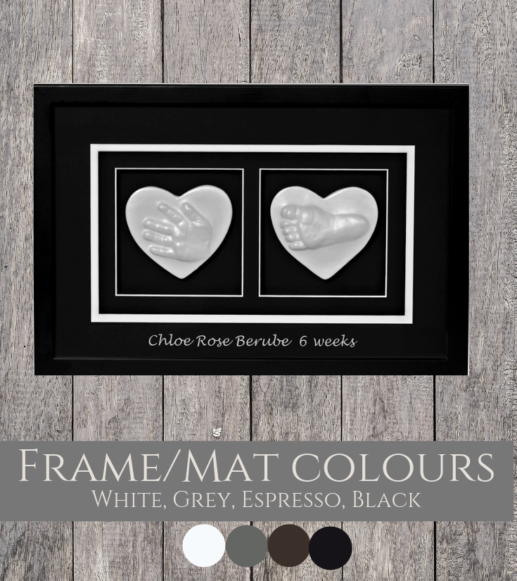 Double Raised Impression Frame