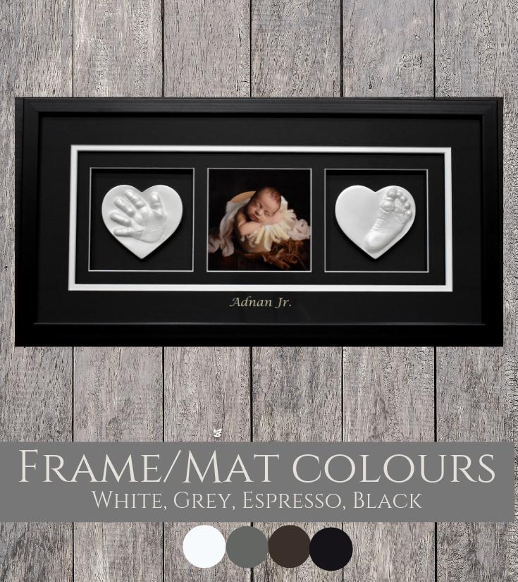 Triple Raised Impression Frame