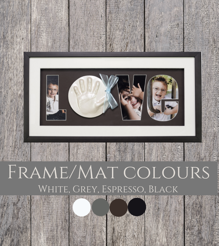 Love Raised Impression Frame