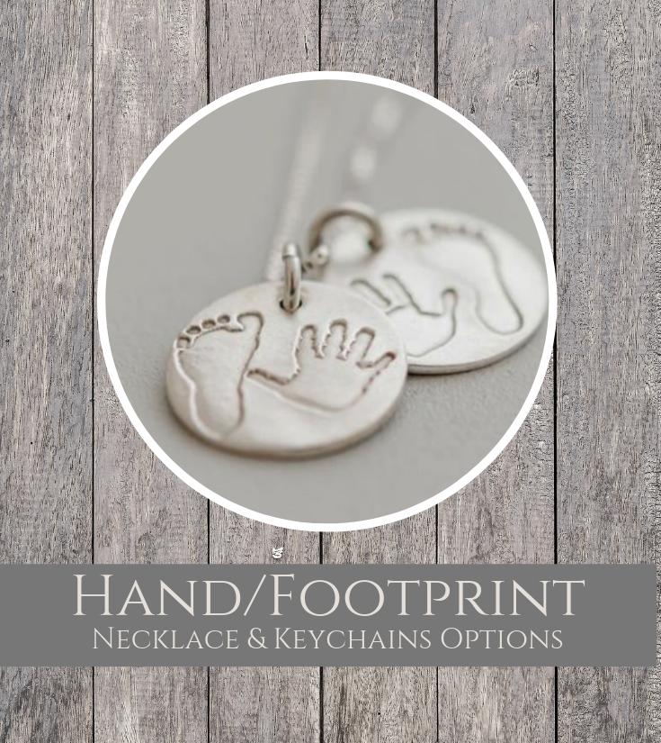 Hand Footprint Pendant