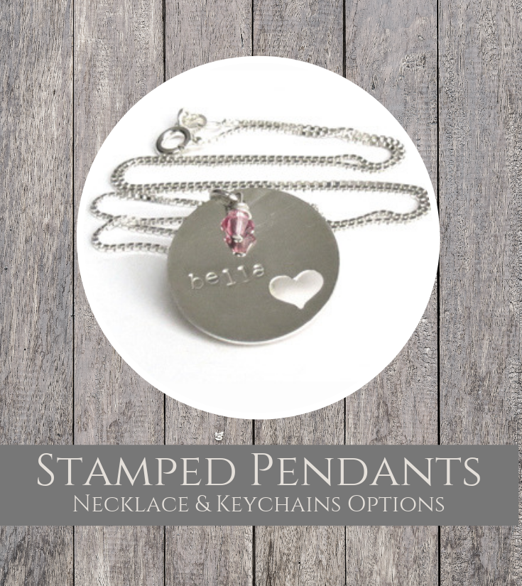Stamped Pendants