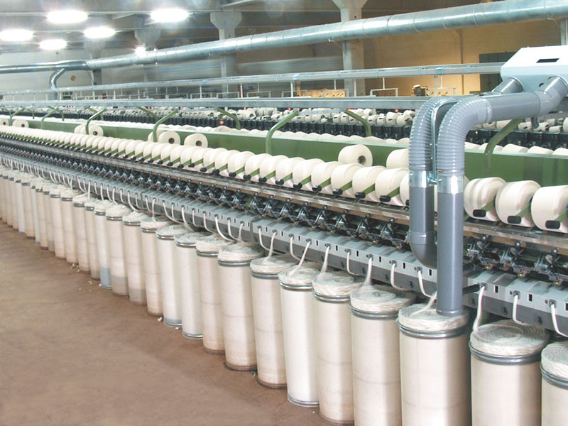 YARN PRODUCTION (RING SYSTEM, OPEN END & OTHER SYSTEMS)