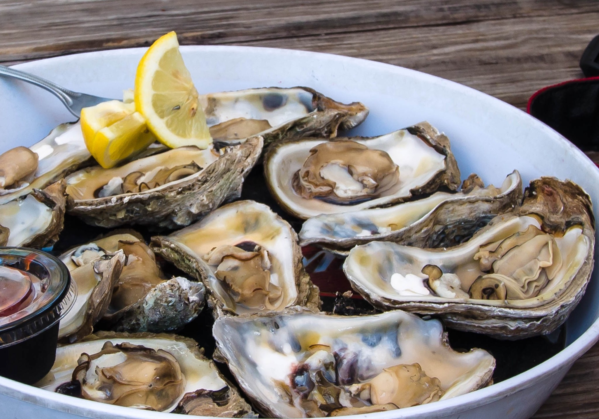 simple steamed oysters recipe