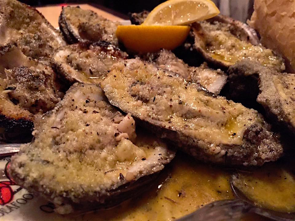 Drago's chargrilled oysters