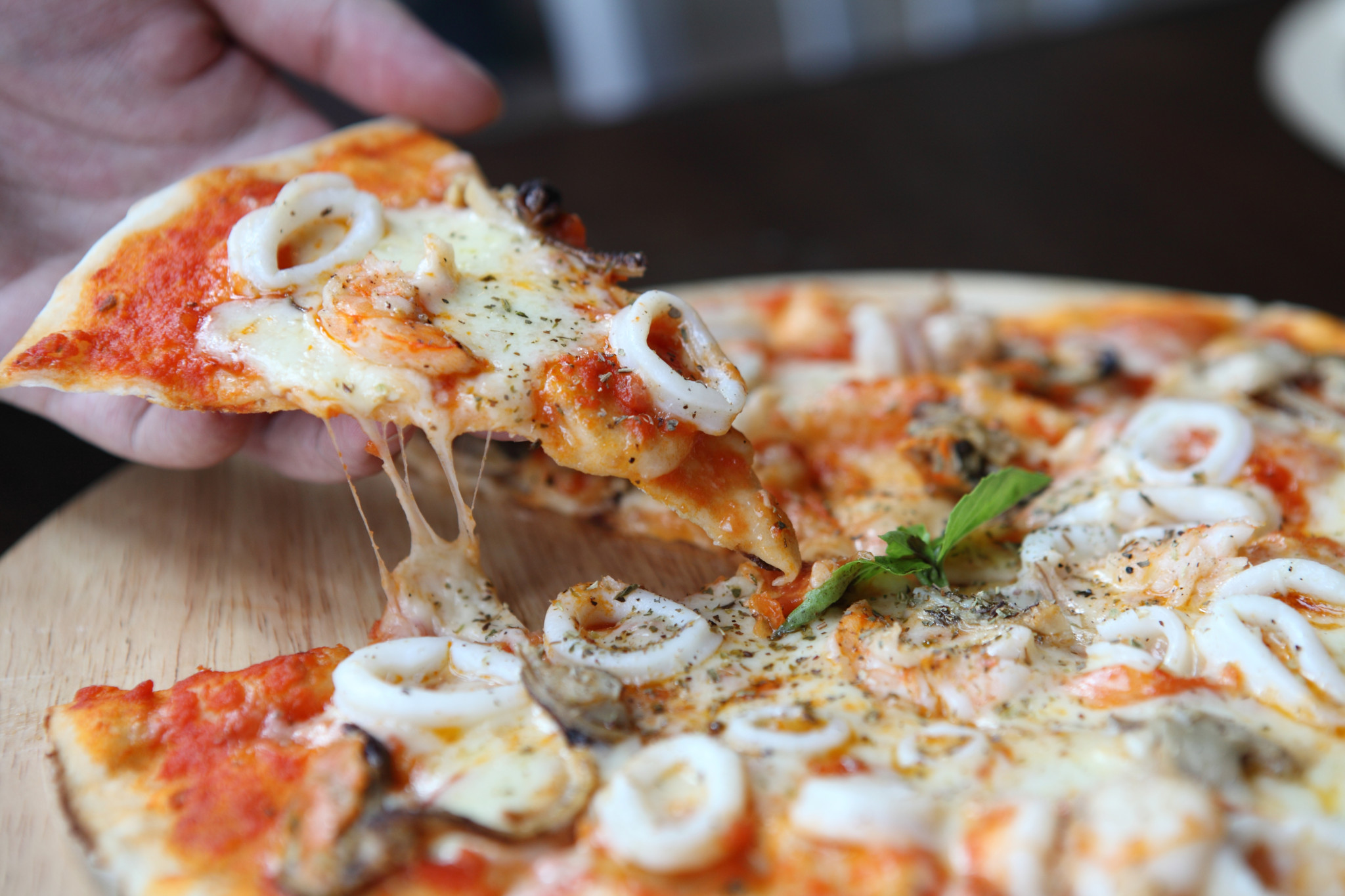 oyster pizza recipes