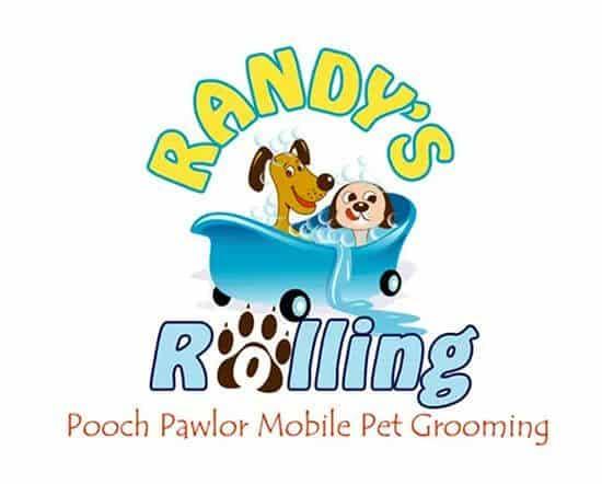 randy's rolling logo design