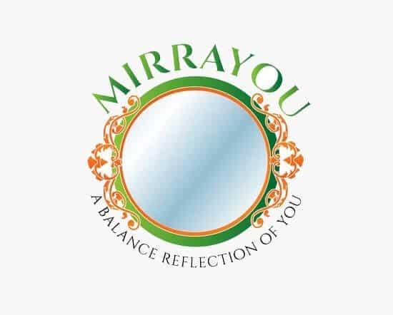 mirrayou logo design