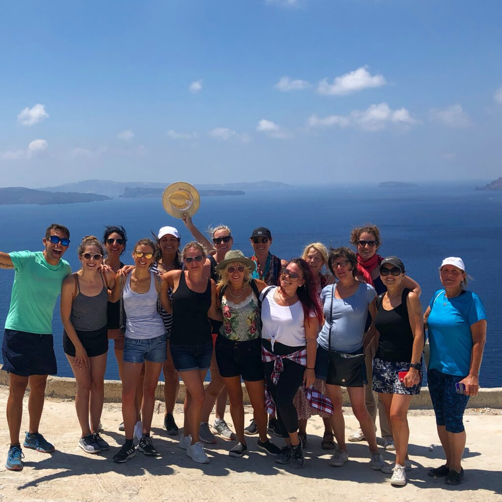 Group Santorini Greece picture 2