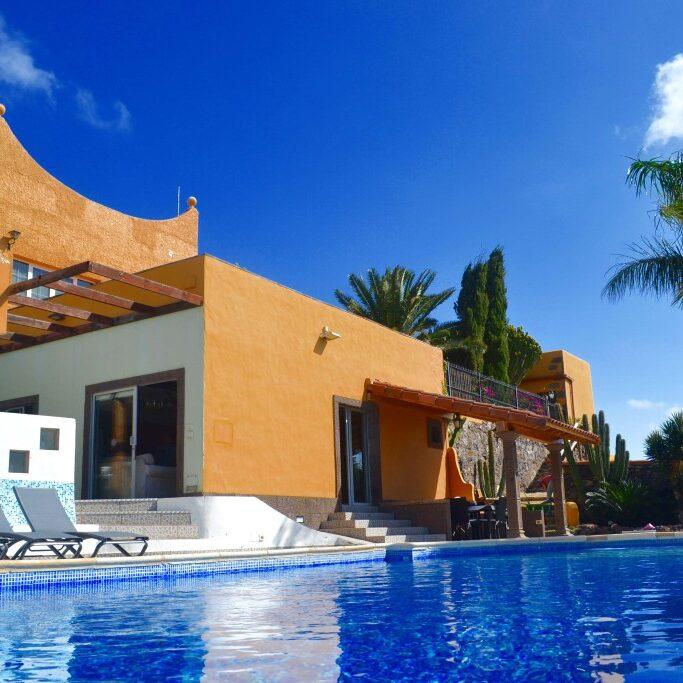 The Pool at Villa Gran Canaria Sky Pilates and Yoga Retreats