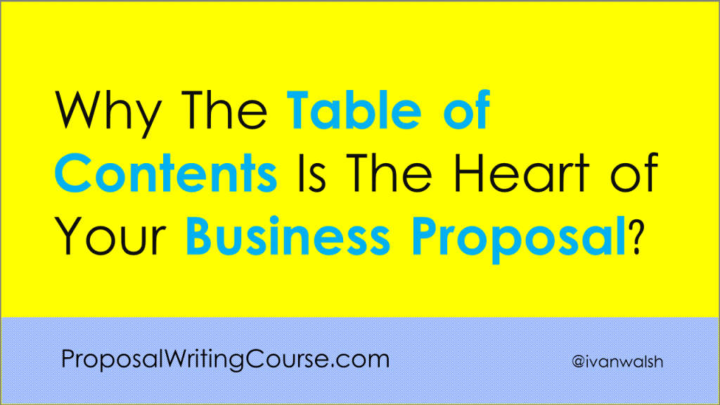 Business-Proposal-TOC
