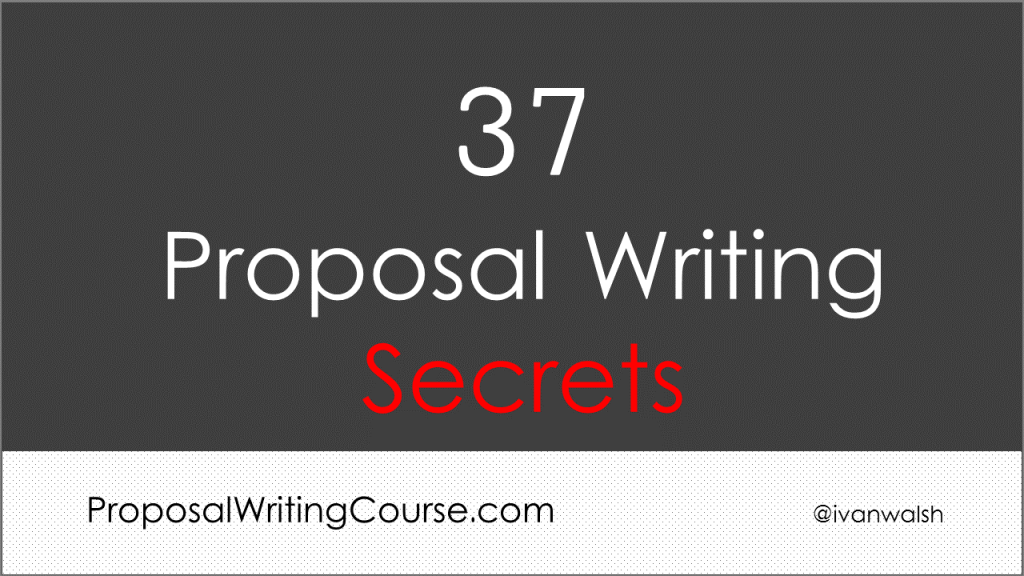 proposal-writing-secrets