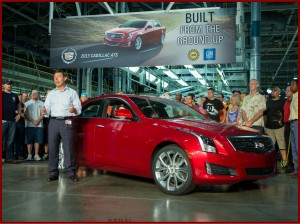 Cadillac ATS had a good month to start off the year.