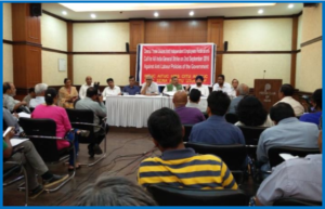 AutoInformed - Delphi Press Conference where Indian Trade Unions Call General Strike