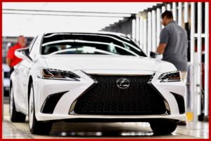 AutoInformed.com on 2019 Lexus ES 350 - Georgetown, Kentucky August 2018.