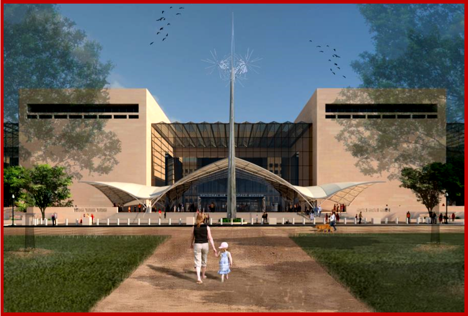 AutoInformed.com on The National Air and Space Museum proposed design updaates