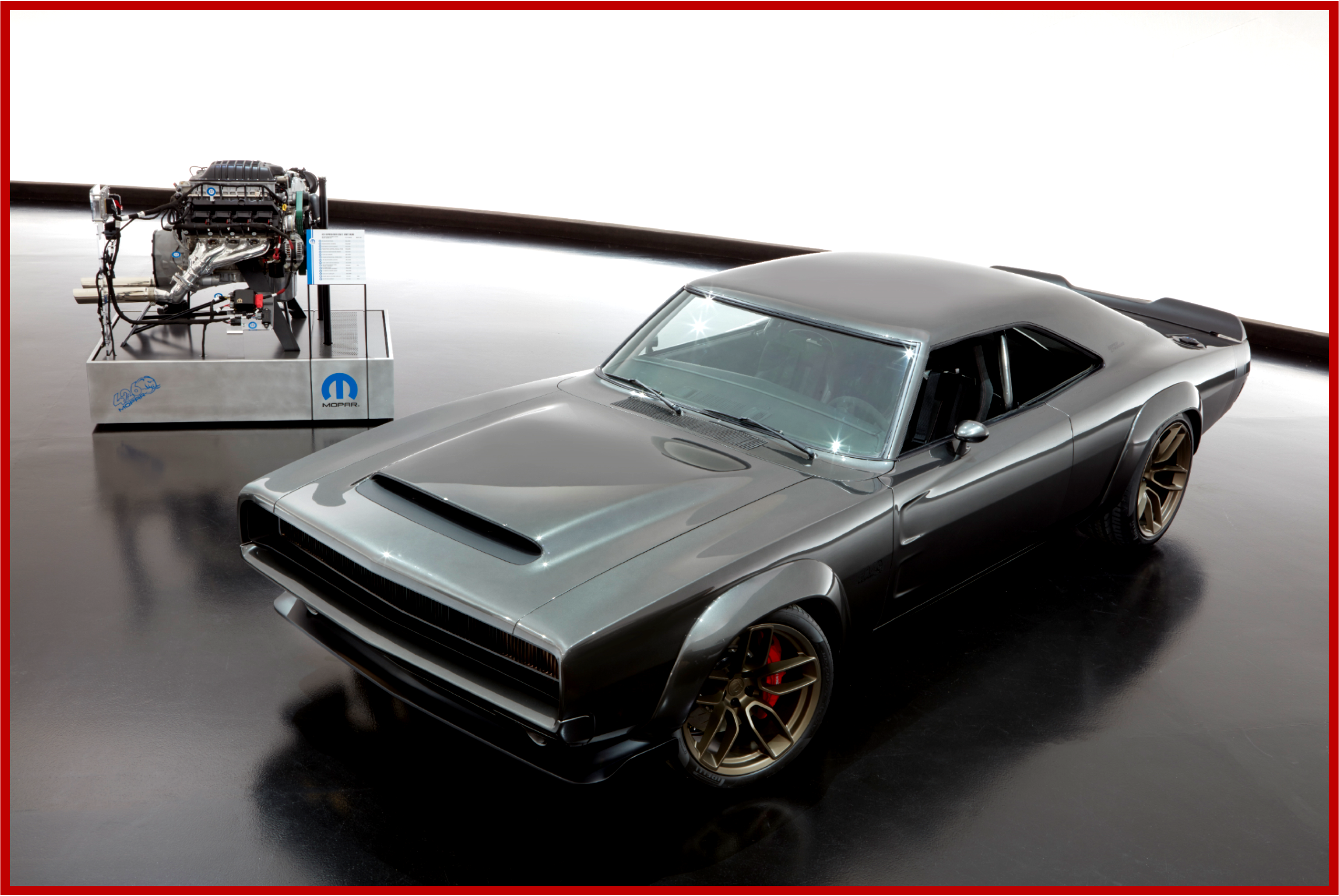 AutoInformed.com on Mopar at SEMA with 1000 Horsepower 426 Crate Hemi, Supercharger Concept