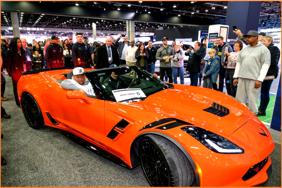 AutoInfrmed.com on Cabrera Rides in Corvette at NAIAS