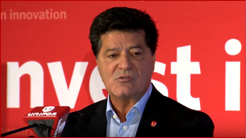 AutoInformed.com on Jerry Dias President of Unifor Announcing Mexican Boycott.