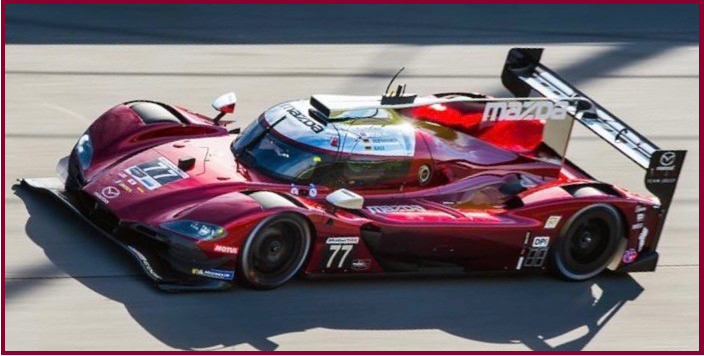AutoInformed.com on Mazda RT24-P - Daytona 2019 Pole Sitter and Lap Record