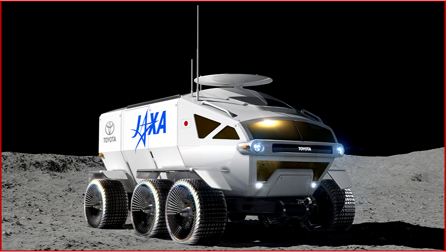 AutoInformed on Toyota Concept Manned Lunar Rover