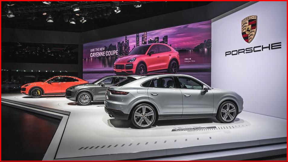 AutoInformed.com on Asian Premier of Porsche Cayenne Coupe - Shanghai 2019