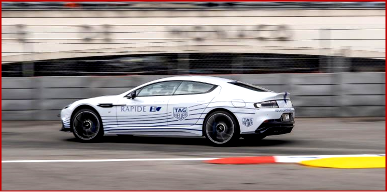 AutoInformed.com on Aston Martin Rapide E - Public Debut Monaco May 2019
