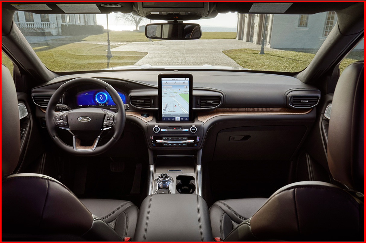 AutoInformed.com on 2020 Ford Explorer with Optional 10-inch Screen