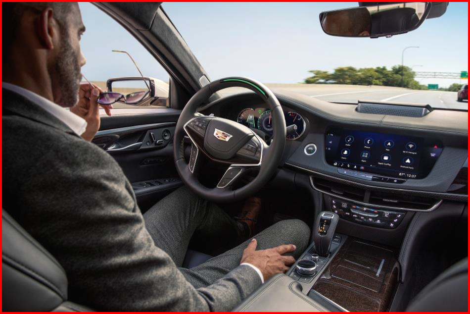 AutoInformed.com on Cadillac CT6 with Super Cruise Engaged