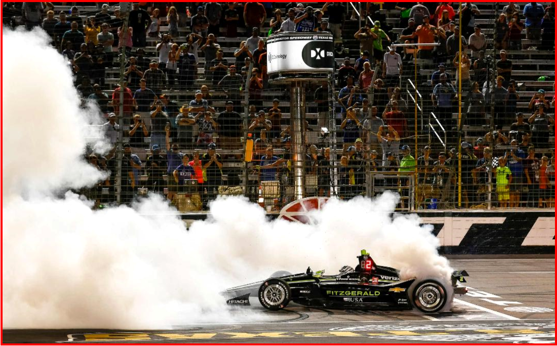 AutoInformed.com on Newgarden Wins IndyCar Texas 600