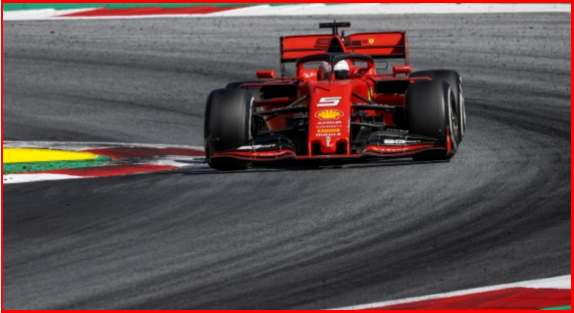 AutoInformed.com on 2019 Austrian Grand Prix - German Sebastion Vettel in a Ferrari