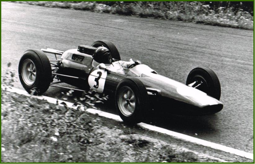 AutoInformed.com on Lotus 25 - Jimmy Clark - Image Courtesy of Classic Team Lotus