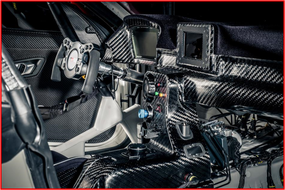 AutoInformed.com on Toyota GR Supra GT4 -Interior