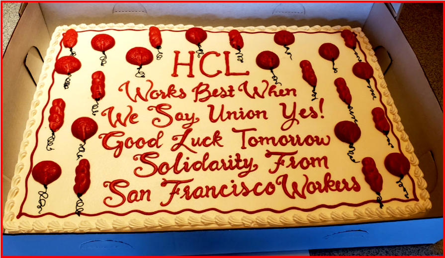 AutoInformed.com on USW Union Vote at Google Contractor HCL