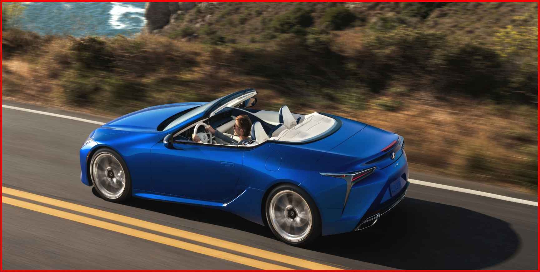 AutoInformed.com on 2021 Lexus LC 500 Convertible