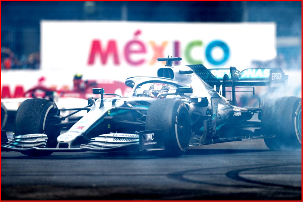 AtoInformed.com on Mercedes-AMG Petronas Motorsport, Mexican GP 2019. Lewis Hamilton World Championship