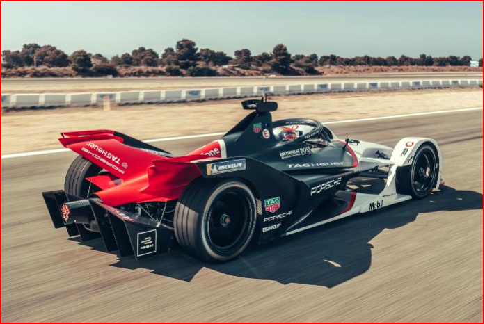 AutoInformed.comon the Porsche 99X Electric Formula E Race Car in Testing