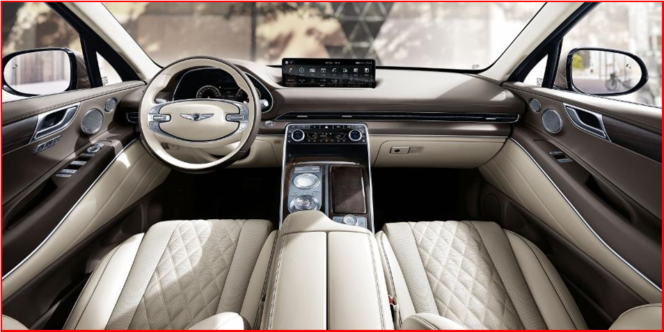 AutoInformed.com on Genesis GV80 Interior - Jan 2020 Debut