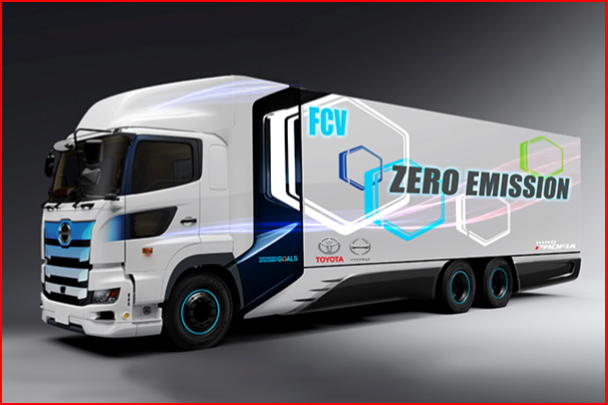 AutoInformed.com on Toyota Hino Heavy-Duty Fuel Cell Truck