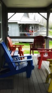 Rainbow Lake Front Porch