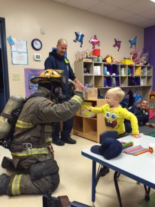 Fire safety education in the classroom