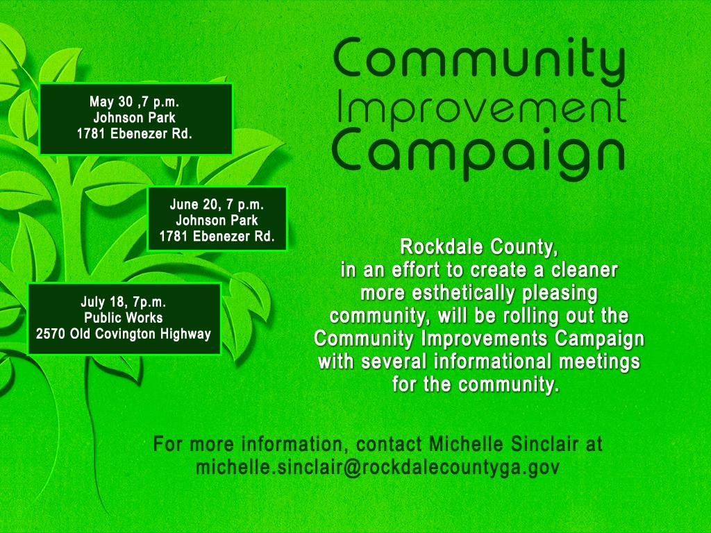 Community Improvements Southside Citizen's Meeting @ Public Works